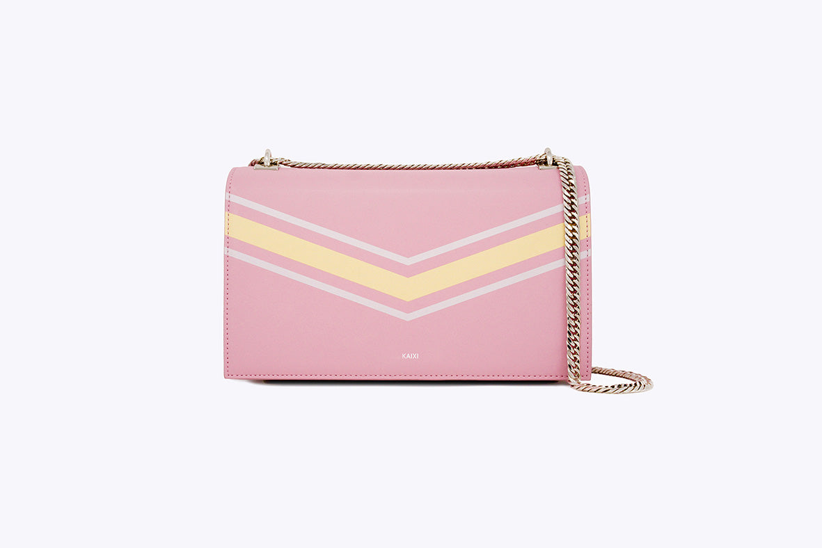MAIA INTERCHANGEABLE SHOULDER BAG IN REGAL ROSE - UMBRO KAIXI