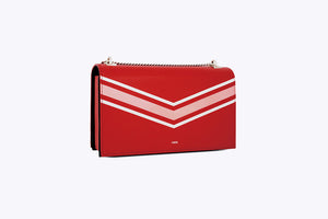 MAIA INTERCHANGEABLE SHOULDER BAG COVER SET IN RED - UMBRO KAIXI