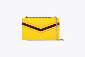 MAIA INTERCHANGEABLE SHOULDER BAG COVER SET IN RICH CANARY - UMBRO KAIXI