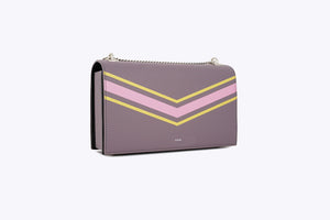 MAIA INTERCHANGEABLE SHOULDER BAG IN PLUM - UMBRO KAIXI