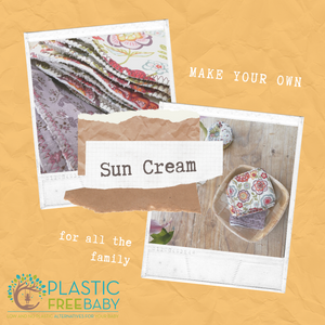Make your own plastic free homemade suncream