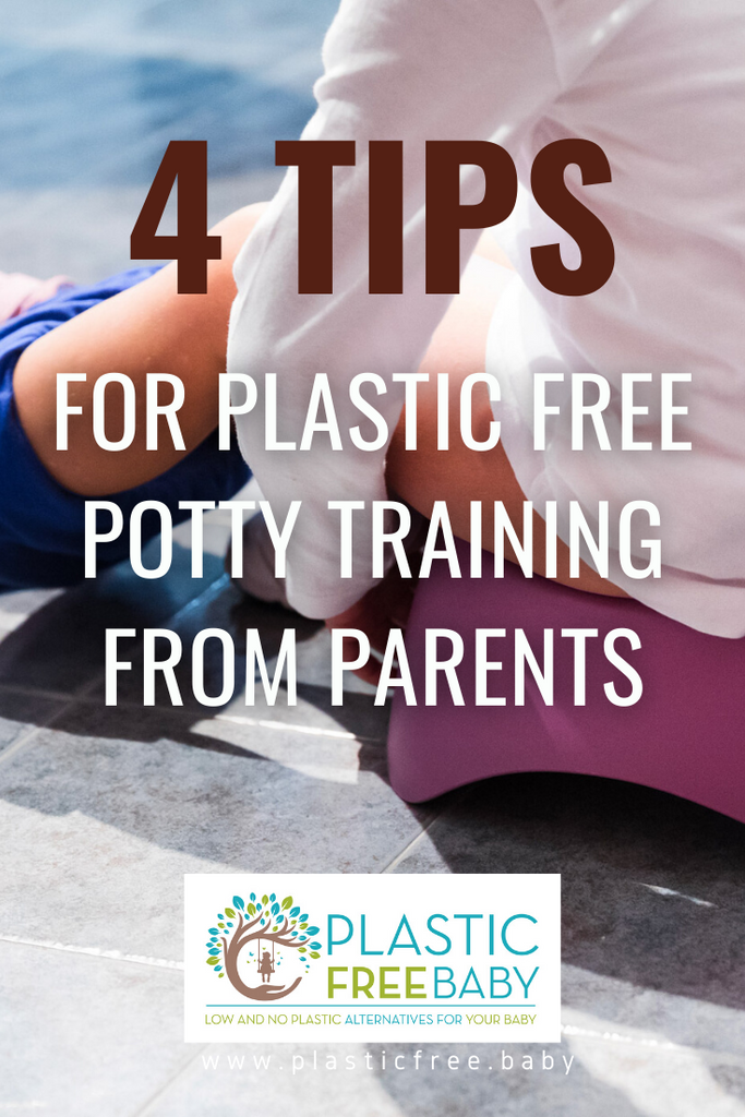 4 tips for Plastic Free Potty Training from parents