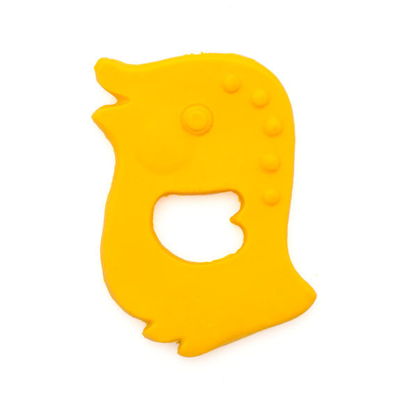 Mushroom and Co Lanco Fully Moulded Teether (choice of shapes)