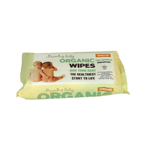 Organic Baby Wipes (Plastic Free & Biodegradable) - Bulk Pack