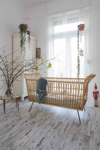wooden childrens bed
