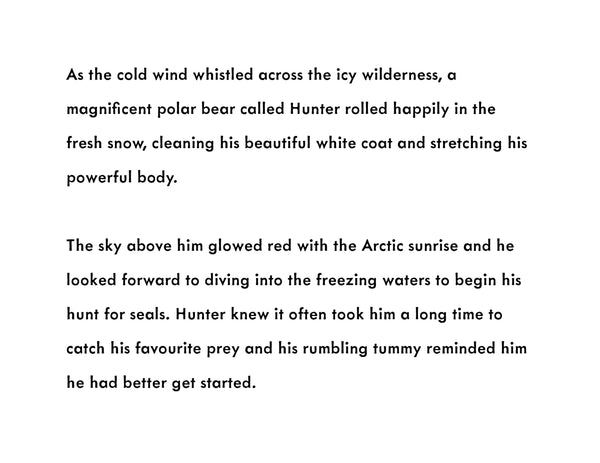 Hunter's Icy Adventure Book (signed copy)