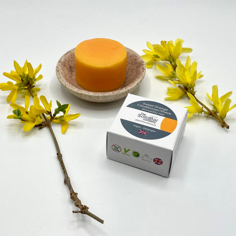 Essential Sweet Orange Hair Conditioner Bar for Baby & Kids