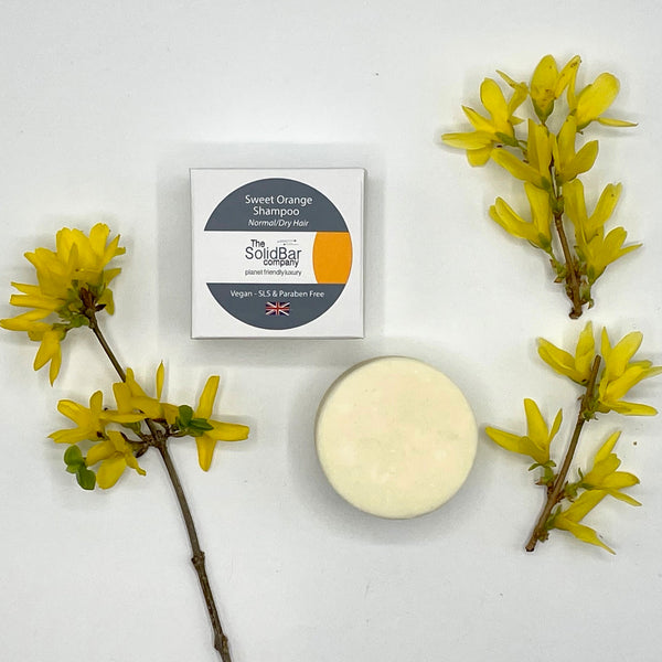 Essential Sweet Orange Hair Baby & Kids Shampoo Bar