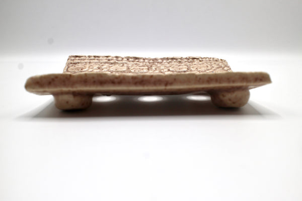 Handcrafted Artisan Ceramic Soap Dish