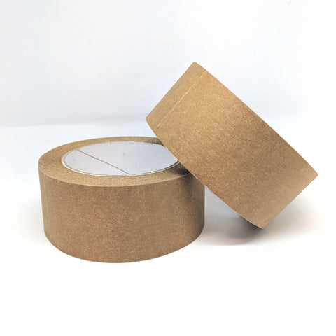 Paper brown tape plastic free