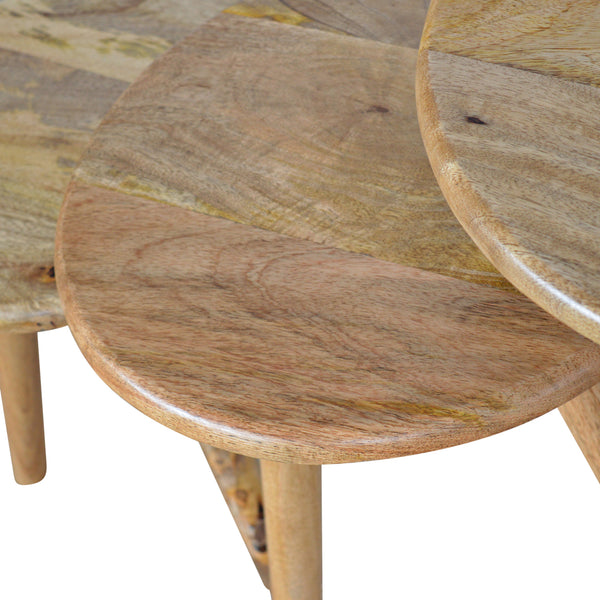 handmade wooden tables
