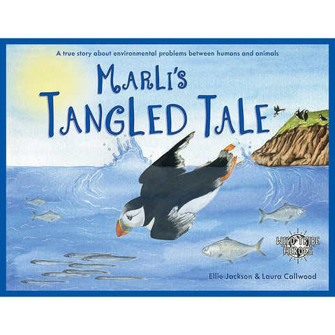 Marli's Tangled Tale Book (signed copy)