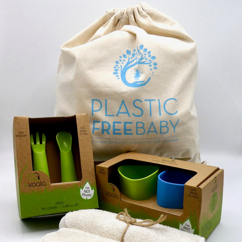 Plastic Free BABY WEANING Gift Set