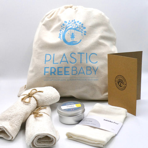 Plastic Free NEW BABY Gift Set