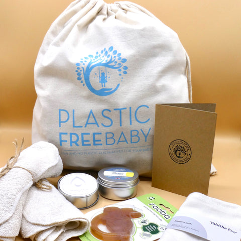 Plastic Free NEW BABY Gift Set - *BUMPER SET*