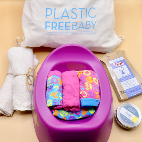 Plastic Free POTTY TRAINING Gift Set - *BUMPER SET*