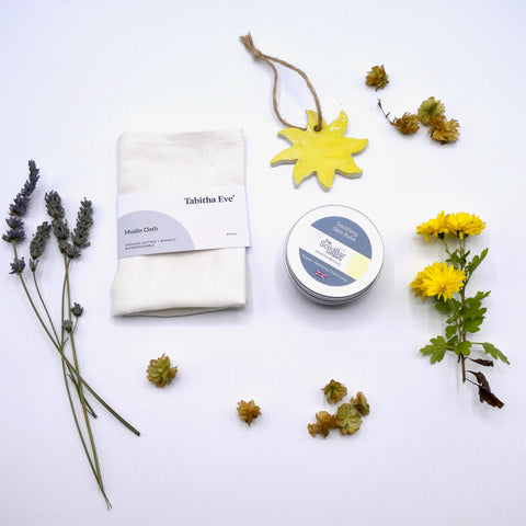 Plastic Free SENDING SUNSHINE CARE PACKAGE Gift Set