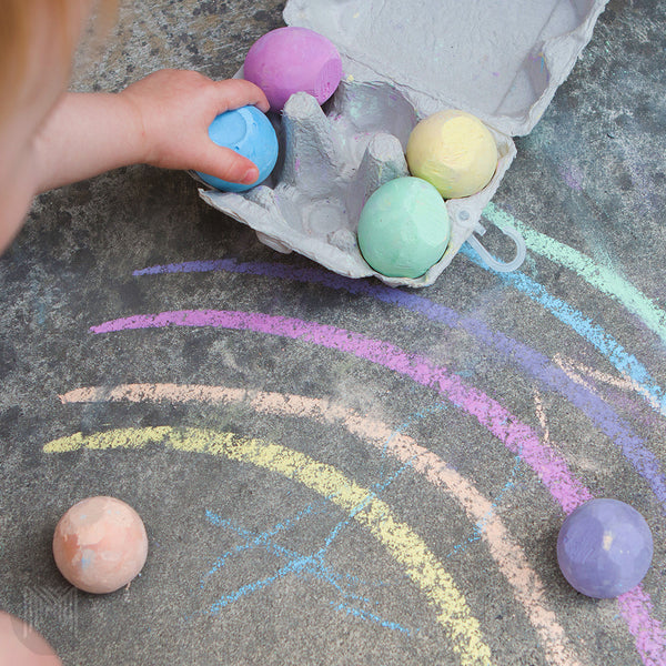 Non-Toxic Egg Shaped Chalk