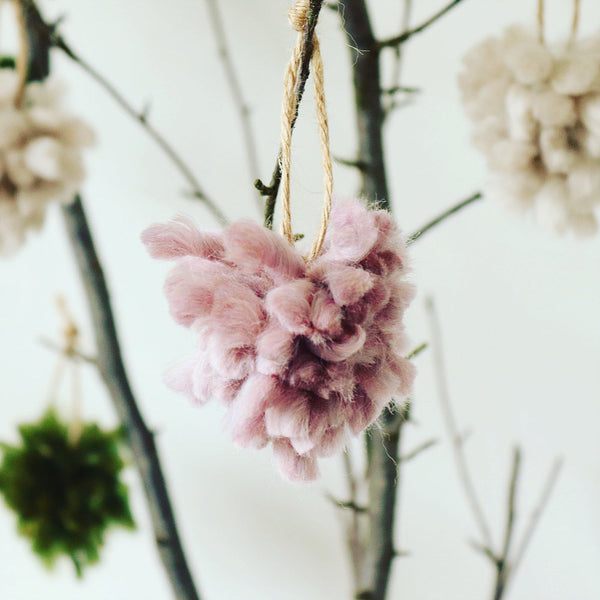 Little Bloomers Tree Decoration - Set of 4