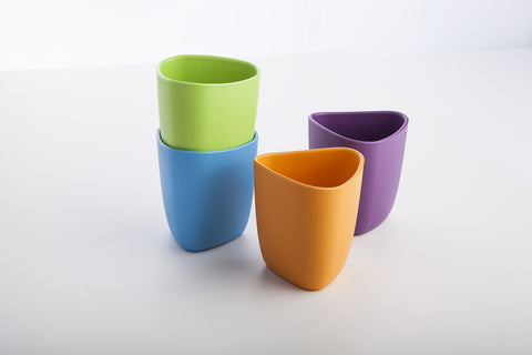 2 Biodegradable Bioplastic Cups