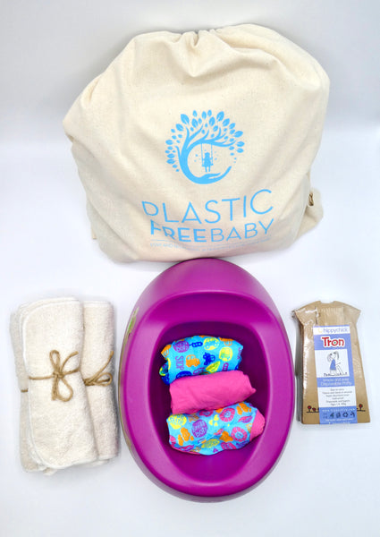 Plastic Free POTTY TRAINING Gift Set Bundle