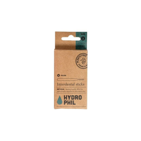 Hydrophil interdental brushes (pack of 2)