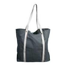 Load image into Gallery viewer, plastic free tote bag blue