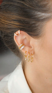 Gold Earcuff Set