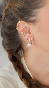 Sparkly Earcuff, Gold
