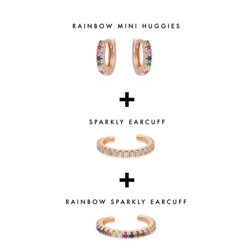 Rainbow Mini Huggies Set