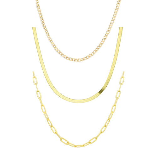 Gold Chain Bundle 1