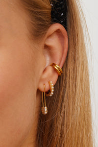 PRE ORDER - Safety Pin Earrings