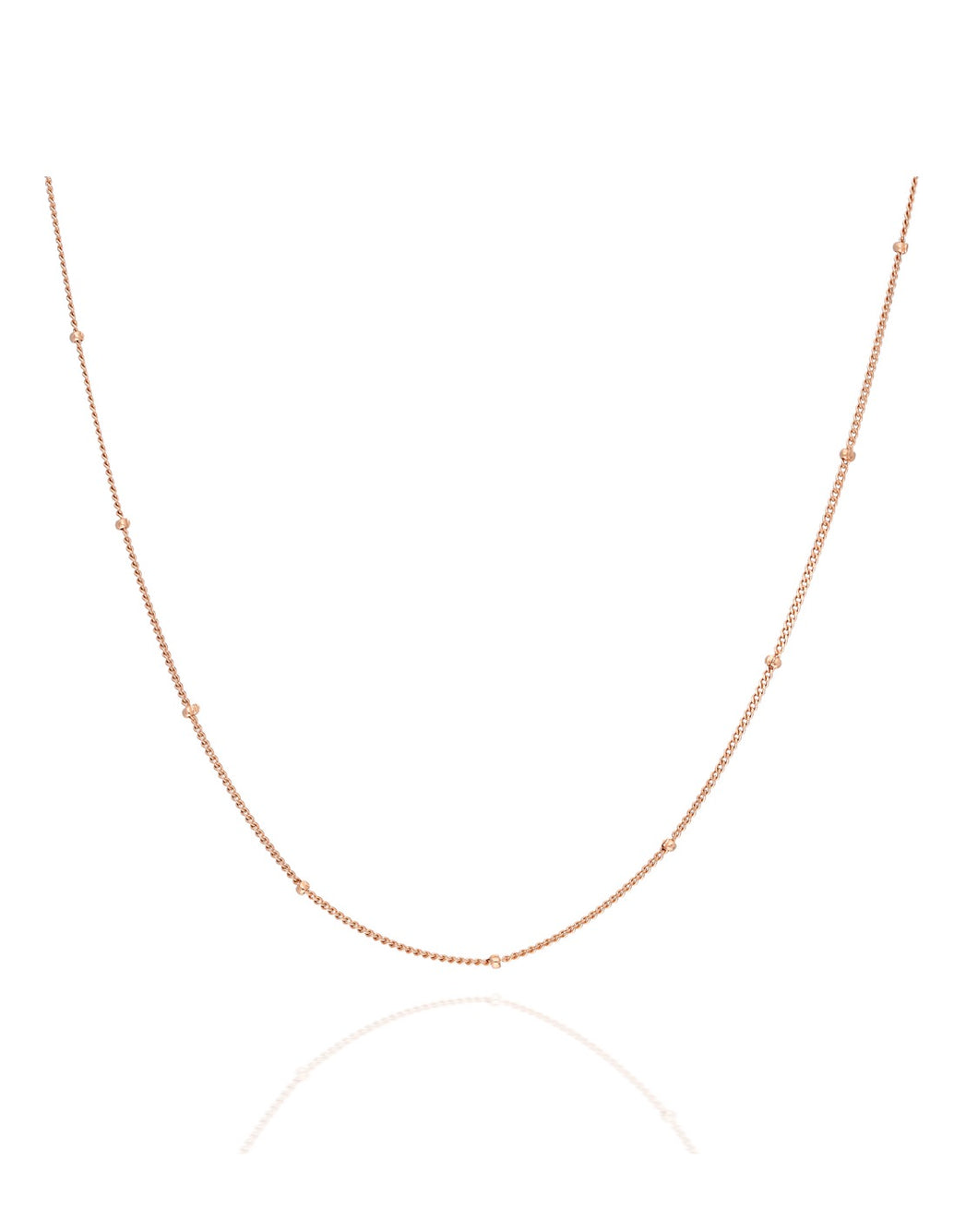 Ball Chain Choker, Rosegold