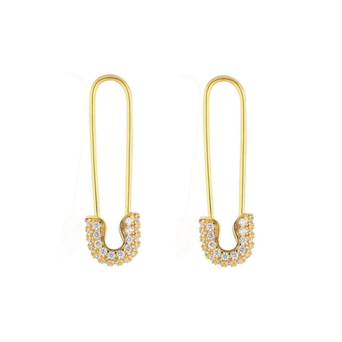 PRE ORDER: Safety Pin Earrings