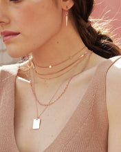 Load image into Gallery viewer, Circle Choker, Rosegold