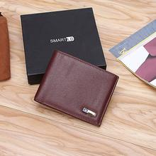 Smart Leather Wallet with GPS Tracking