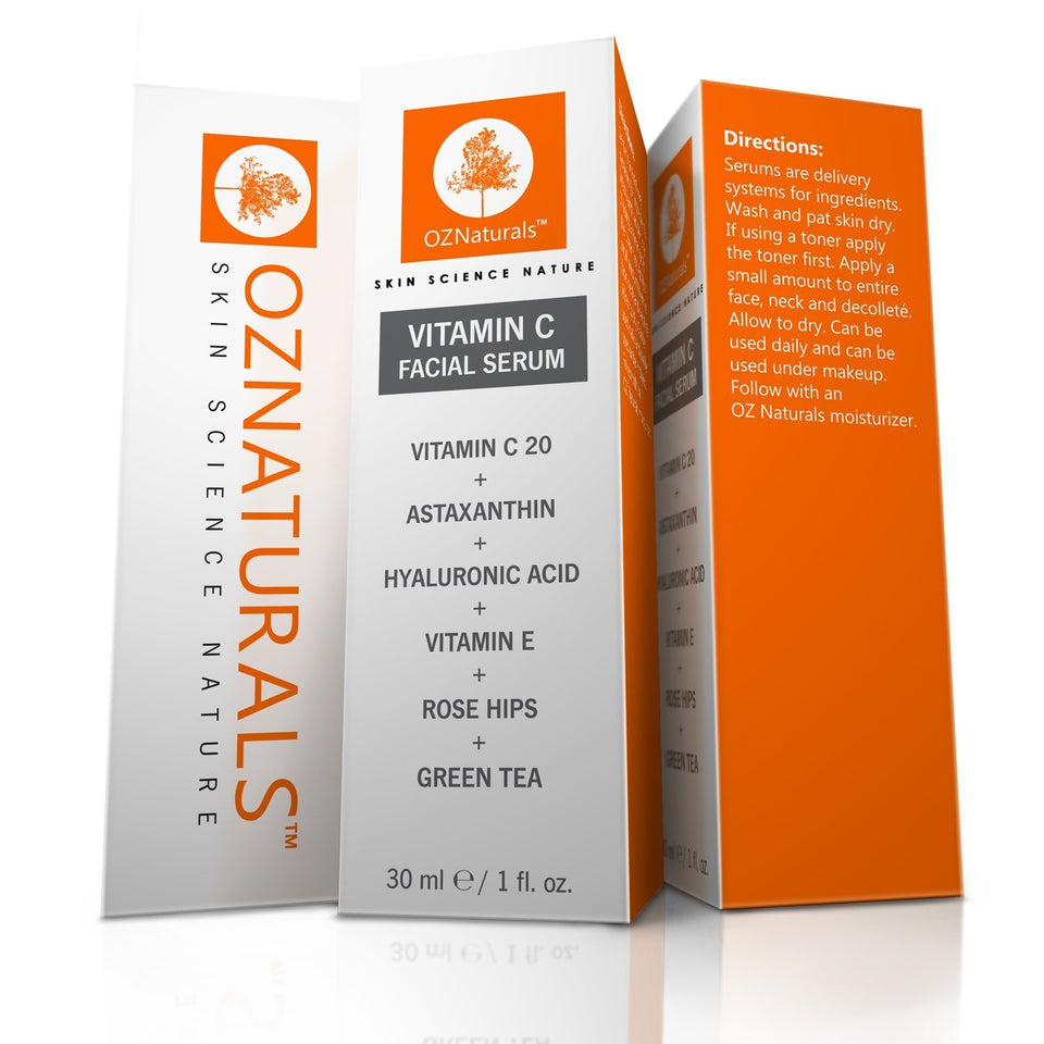 OZ Naturals Vitamin C Face Serum- Anti Wrinkle, Revitalize (birthday offer)