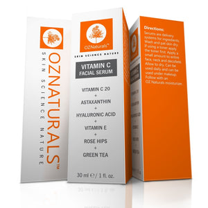 OZ Naturals Vitamin C Face Serum- Anti Wrinkle, Revitalize (New Offer)