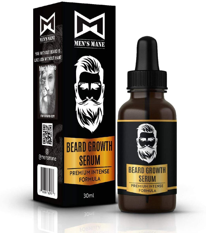 Mens Mane Beard and Hair Growth Serum (Black Friday)