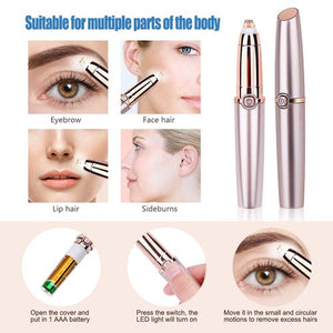 Electric Eyebrow Remover for Women