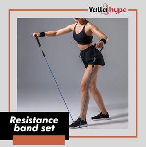 YALLAHYPE™ Ultimate Resistance Bands Set