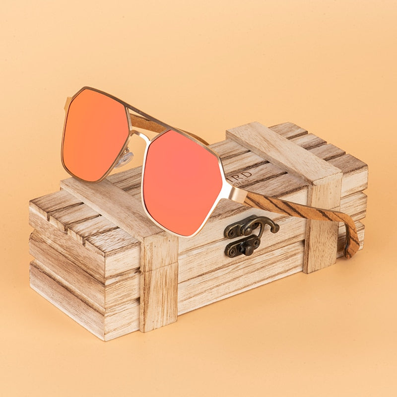 New BOBO BIRD Wood Sunglasses Polarized UV400 Fashion Women Glasses Summer Travel Great Gifts Top Brand  Dropshipping