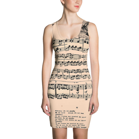 Siboney Sublimation Cut & Sew Dress