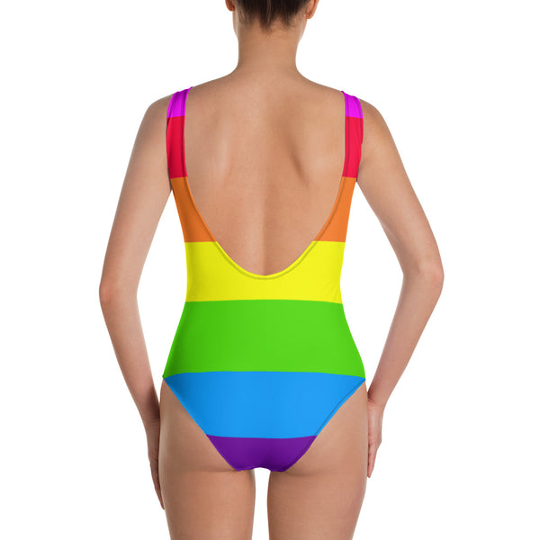 tropikaldystopia gay pride One-Piece Swimsuit