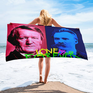 love is forever Towel