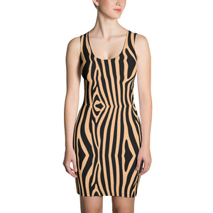 zebra camel Dress