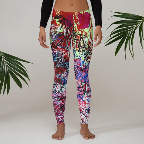 Luis Trapaga's art Leggings