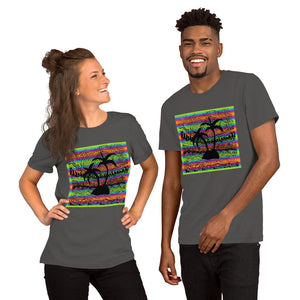 miami palmtrees short-sleeve unisex t-shirt