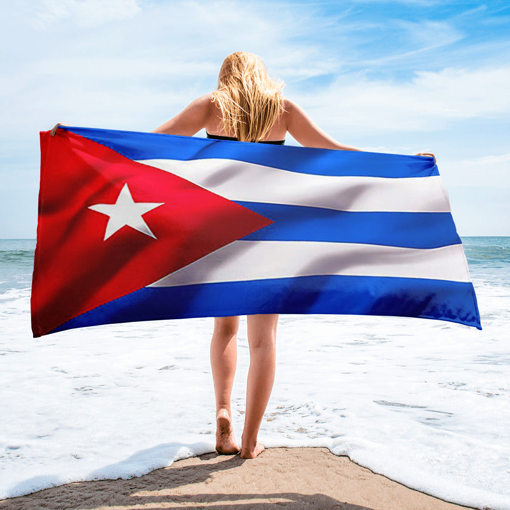 Cuban flag Towel