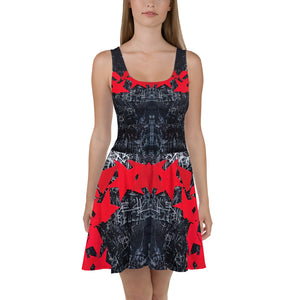Luis Trapaga's art girl dress